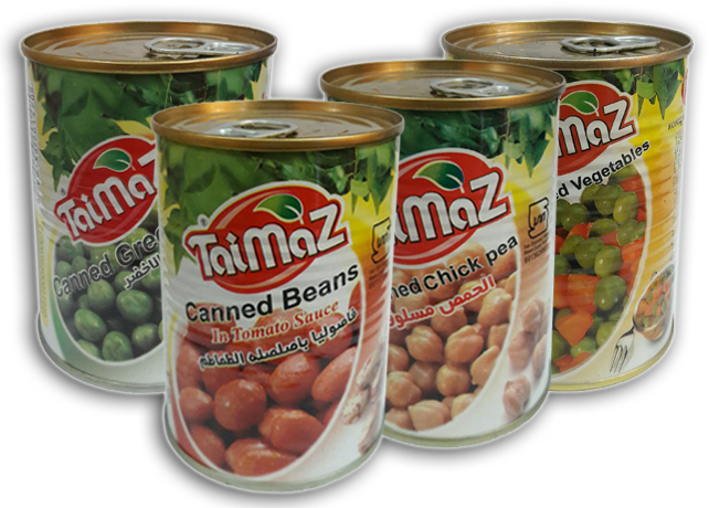 Canned Beans and Legumes